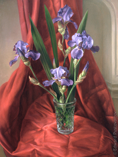 Irises. (private collection, New-York)