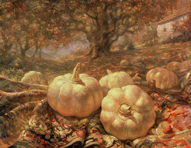 Autumn Still Life. (private collection, Riga)